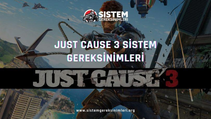 Just Cause 3 Sistem Gereksinimleri: Just Cause 3 Minimum ve Önerilen Sistem Gereksinimleri PC, just cause 3 tavsiye edilen sistem gereksinimleri nelerdir