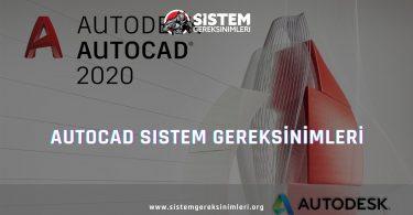 Autocad Sistem Gereksinimleri: Autocad Minimum ve Önerilen Sistem Gereksinimleri PC, autocad tavsiye edilen sistem gereksinimleri nelerdir