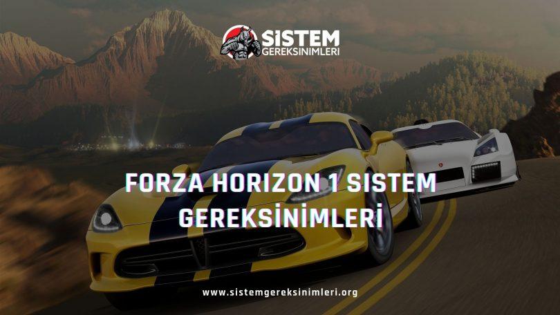 Forza Horizon 1 Sistem Gereksinimleri: Forza Horizon 1 Minimum ve Önerilen Sistem Gereksinimleri PC, forza horizon 1 tavsiye edilen sistem gereksinimleri nelerdir